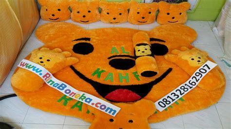 Karpet Karakter Winni The Pooh karpet kepala winnie the pooh karpet bulu rasfur
