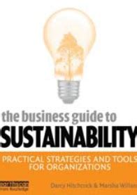 sustainability a comprehensive foundation books the business guide to sustainability practical strategies