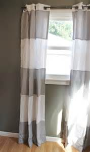 Grey Striped Curtains Unavailable Listing On Etsy