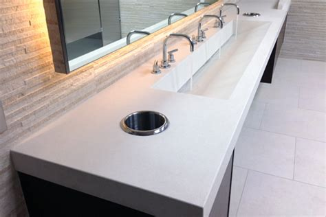 Bathroom Faucets For Thick Countertops Customcretewerks