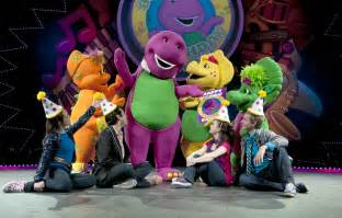 barney live in concert around the town chicago with
