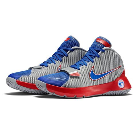 Sepatu Basket Nike Kevin Durant 5 Trey 4 White nike kevin durant trey 5 iii erkek basketbol ayakkabısı