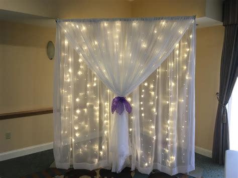 pipe and drape wedding shear pipe drape party and wedding rentals for denton