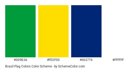 brazil colors brazil flag colors 187 country flags 187 schemecolor