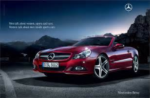 Mercedes Ad 187 Mercedes Sl Advertising Design Goodness