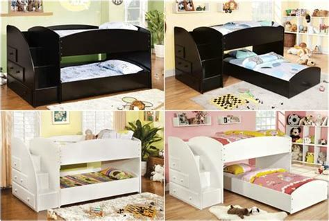 low bunk beds with stairs merrick low bunk bed w stairs kids furniture in los angeles