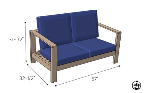outdoor loveseat plans outdoor loveseat 187 rogue engineer