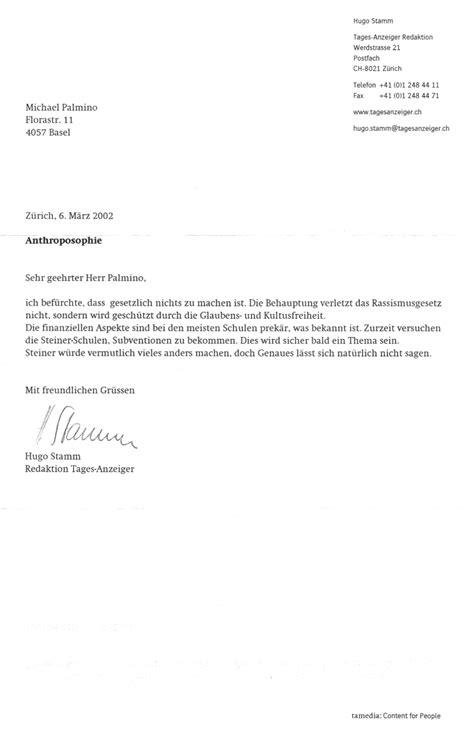 Brief Gestalten Schweiz 10d Schweizer Justiz Terror Die Rassistische Anthroposophie Ist Erlaubt
