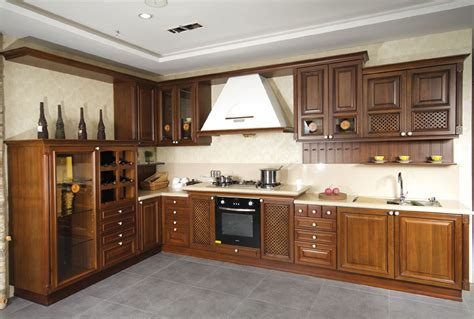Solid Wood Kitchen Cabinets For Long Term Investment Solid Wood Kitchen Furniture