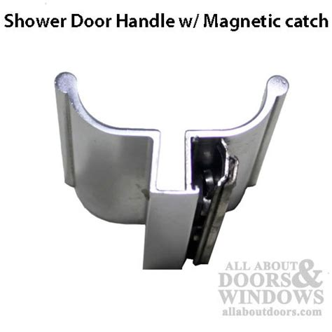 Glass Shower Door Handle Replacement Strike Plate For 18405 Handle Stainless Steel