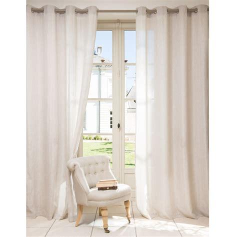 tende beige tenda beige in lino con occhielli 140 x 250 cm v 201 rone