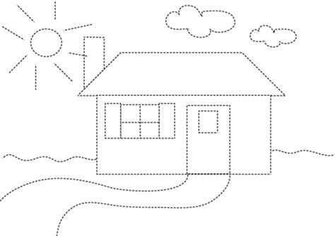 dessiner une maison needo education pour enfants de 0 224 5 ans