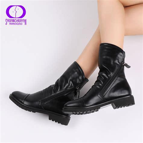 comfortable fashion boots aimeigao 2017 women fashion vintage ankle boots soft