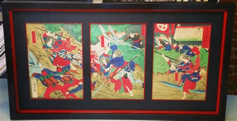 japanese woodblock fastframe of lodo expert picture