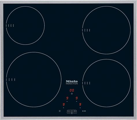 miele induction hob miele km 6115 induction hob with onset controls