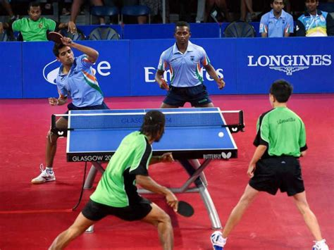 Of Table Tennis by Commonwealth 2014 Indian Table Tennis Teams To