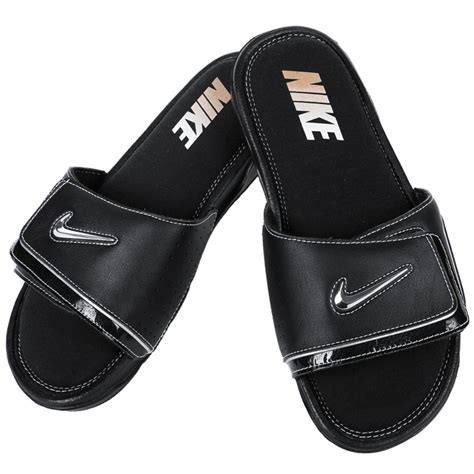 black nike sandals for image gallery nike sandals for