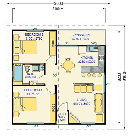 two bedroom granny flat floor plans 32 best images about granny flats on pinterest flats 2