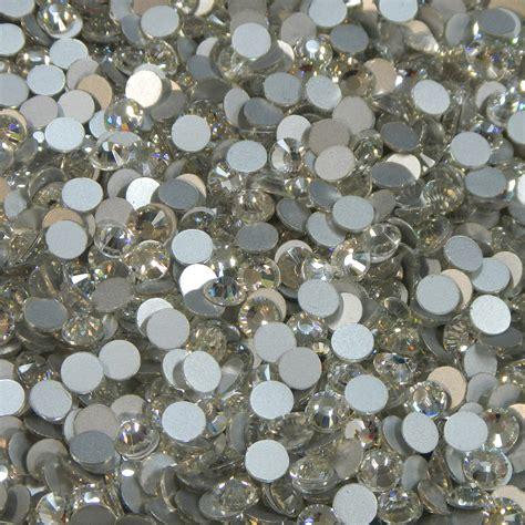 Rhinestone Clear clear silver foiled non fix rhinestones