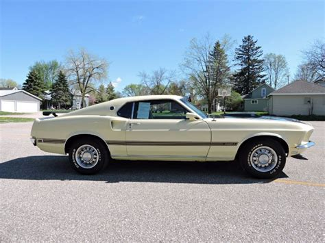 Mach 1 Mustang Automatic by 1969 Ford Mustang 351 Mach 1 Fastback Fmx Automatic