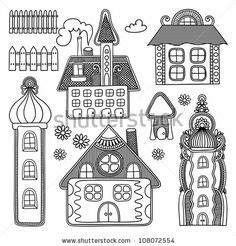 doodle god haunted house doodles and zentangle houses on haunted houses