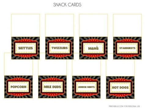 concession card template free printables by printabelle