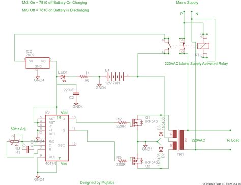 inverter circuit diagram inverter circuit page 2 power supply circuits next gr