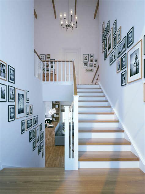 treppenaufgang dekorieren 1001 beispiele f 252 r treppenhaus gestalten 80 ideen als