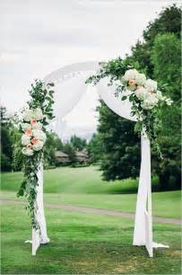 25 best ideas about wedding arch decorations on
