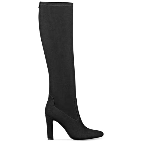 black high heel dress shoes ivanka sila shaft high heel dress boots in