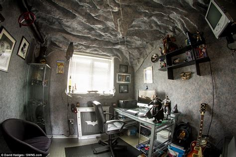 room for more he s batman fan spends 18 months turning spare room into a
