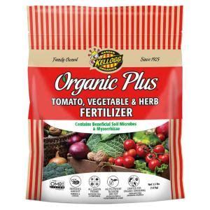 Best Vegetable Garden Fertilizer Kellogg Garden Organics 3 5 Lb Tomato Vegetable And Herb