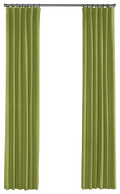 grass curtains grass green slubby linen curtain single panel ring top