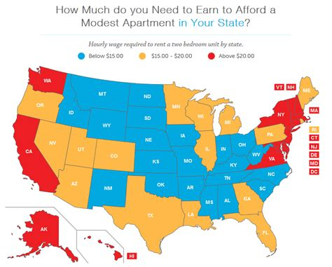 mapping the affordable housing deficit for each state in wages don t cover rent for low income people in lancaster