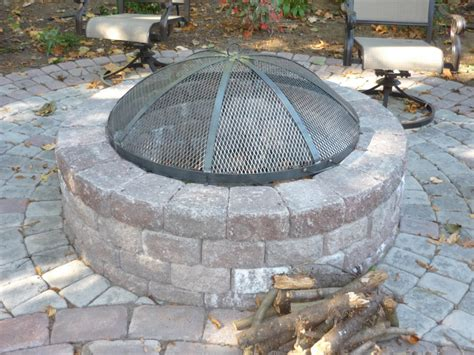 Firepit Screen Outdoor Pit Screens Outdoor Furniture Design And Ideas