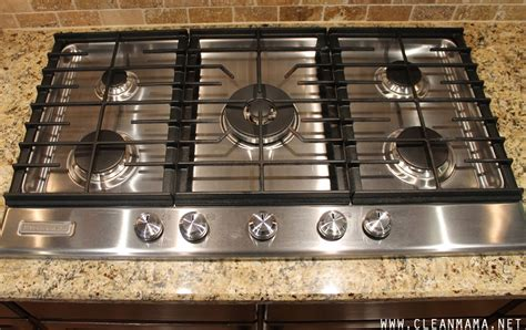 Countertop Stove Tops by How To Clean Your Kitchen Appliances In An Hour