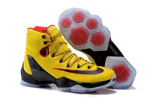 Yuk Sale Nike Lebron 13 Elite Pe Black Yellow nike lebron 13 elite pe yellow black and for sale