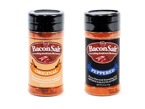 7 Awesome Flavors by Awesome Bacon Flavored Things Bacon Lube Bacon Salt