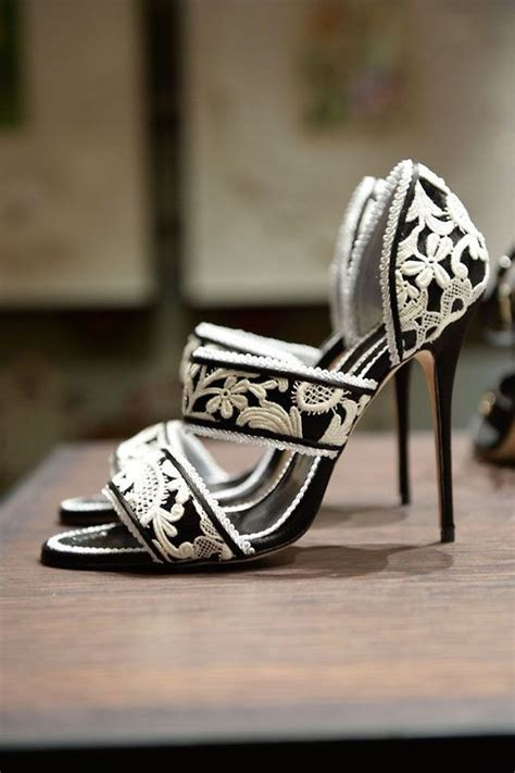 black and white wedding shoes pinkous