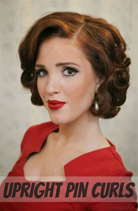 pin up hairstyle tutorial day 27 of 30 styles in 30 days pin curls rowan january