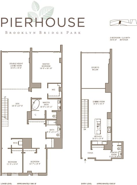 pier house plans floorplan revealed for pierhouse at brooklyn bridge park