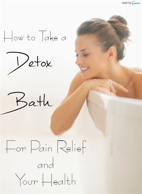 How Does A Detox Take To Heal by How To Do A Detox Bath Saved By Grace