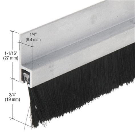 Door Sweep Brush by Crl Ws497av72 Brush Door Sweep Thebuilderssupply