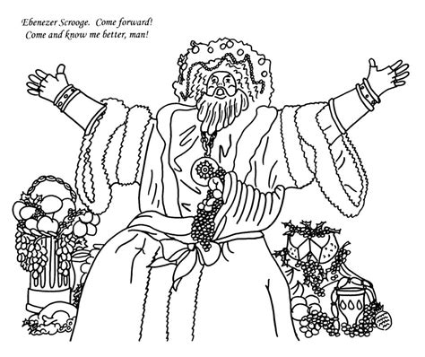 a carol coloring book charles dickens coloring pages