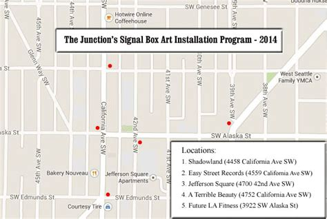 junction design guidelines west seattle blog beautify the junction artist sought