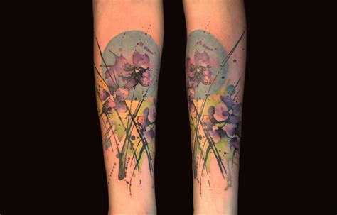 watercolor tattoos nyc watercolor tattoos by gene coffey scene360