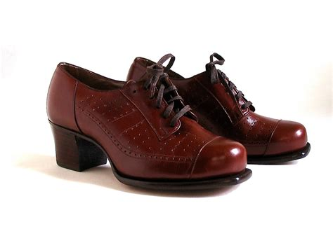 womens vintage oxford shoes vintage shoes oxford lace up s unworn 1940 s