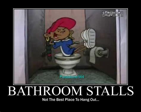 Bathroom Stall Meme - bathroom stalls motivator by genincat on deviantart