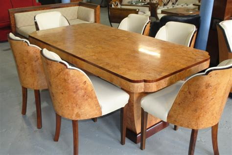 art tables for sale art deco cloudback dining table and 6 chairs cloud 9