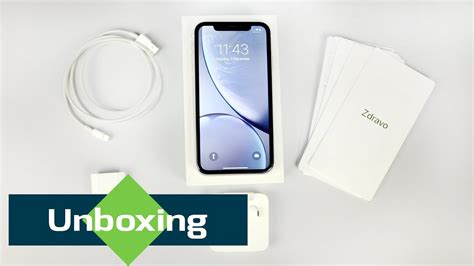 iphone xr unboxing what s inside the box